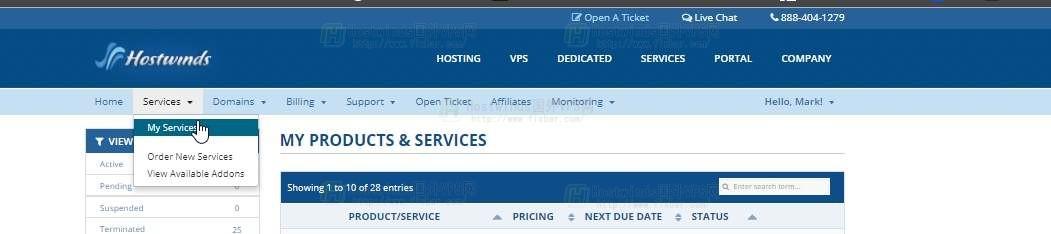 使用Hostwinds如何访问我的CPanel帐户?