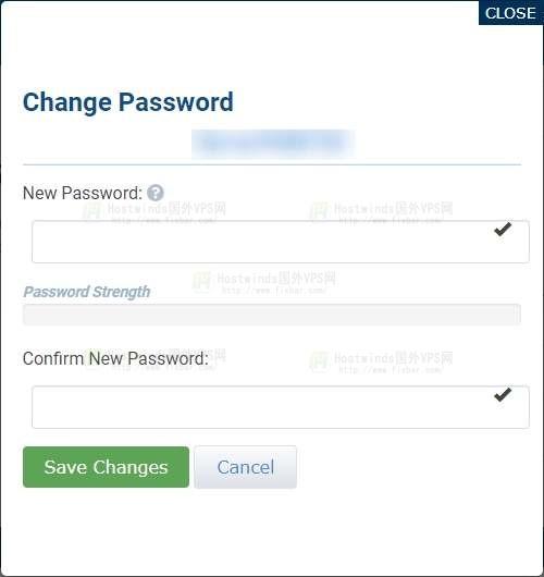 HostWinds VPS(Windows Server 2016)更改管理员密码的教程